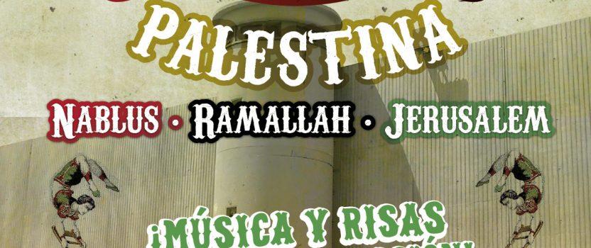 UNA VEZ MÁS SE DEMUESTRA QUE EL FESTICLOWN ES CAPAZ DE TUMBAR ESE MURO DE OPRESIÓN, SILENCIO Y OSCURIDAD QUE LEVANTA ISRAEL EN TORNO A PALESTINA