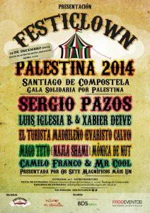 SANTIAGO 2014 cartaz-Gala-Festiclown Santiago-19dec