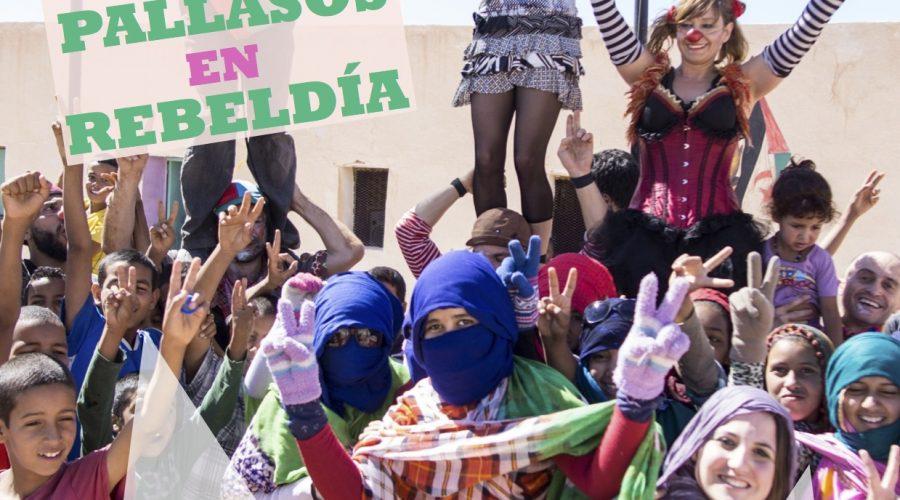 FiSahara y Pallasos en Rebeldía llenan de cine, circo y humor el campamento de refugiados de Dajla