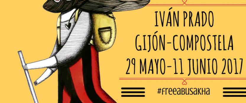 Hoy empieza la #PeregrinaClown para exigir la libertad del payaso palestino preso Abu Sakha