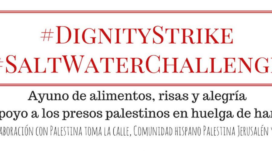 Ayuno solidario con 6.500 presxs palestinxs y PeregrinaClown!
