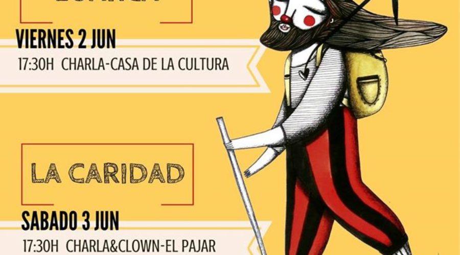 Próximas paradas asturianas de la #PeregrinaClown para reivindicar la libertad de Abu Sakha