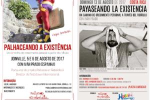 Pallasos en Rebeldía inicia una gira por Brasil y Costa Rica que ocupará todo el mes de agosto