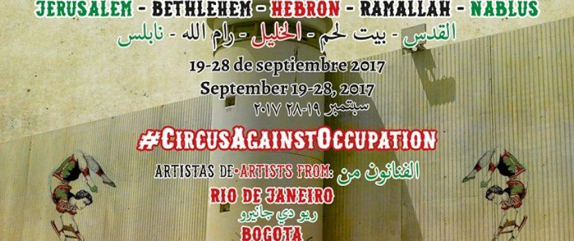 El 4º Festiclown Palestina lleva «circo rebelde contra la ocupación» a cinco ciudades cisjordanas en septiembre
