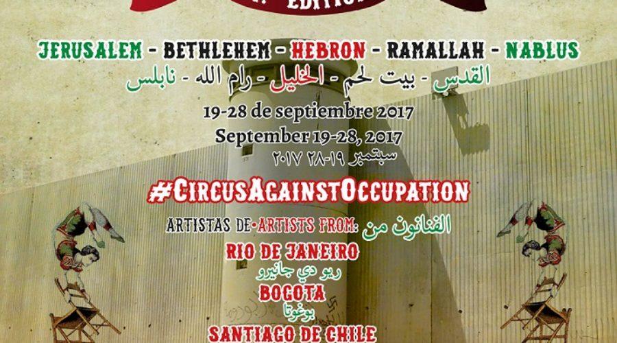 """El 4º Festiclown Palestina lleva """"circo rebelde contra la ocupación"""" a cinco ciudades cisjordanas en septiembre"""