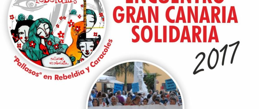 Pallasos en Rebeldía en el Encuentro Gran Canaria Solidaria, dedicado a Thomas Sankara