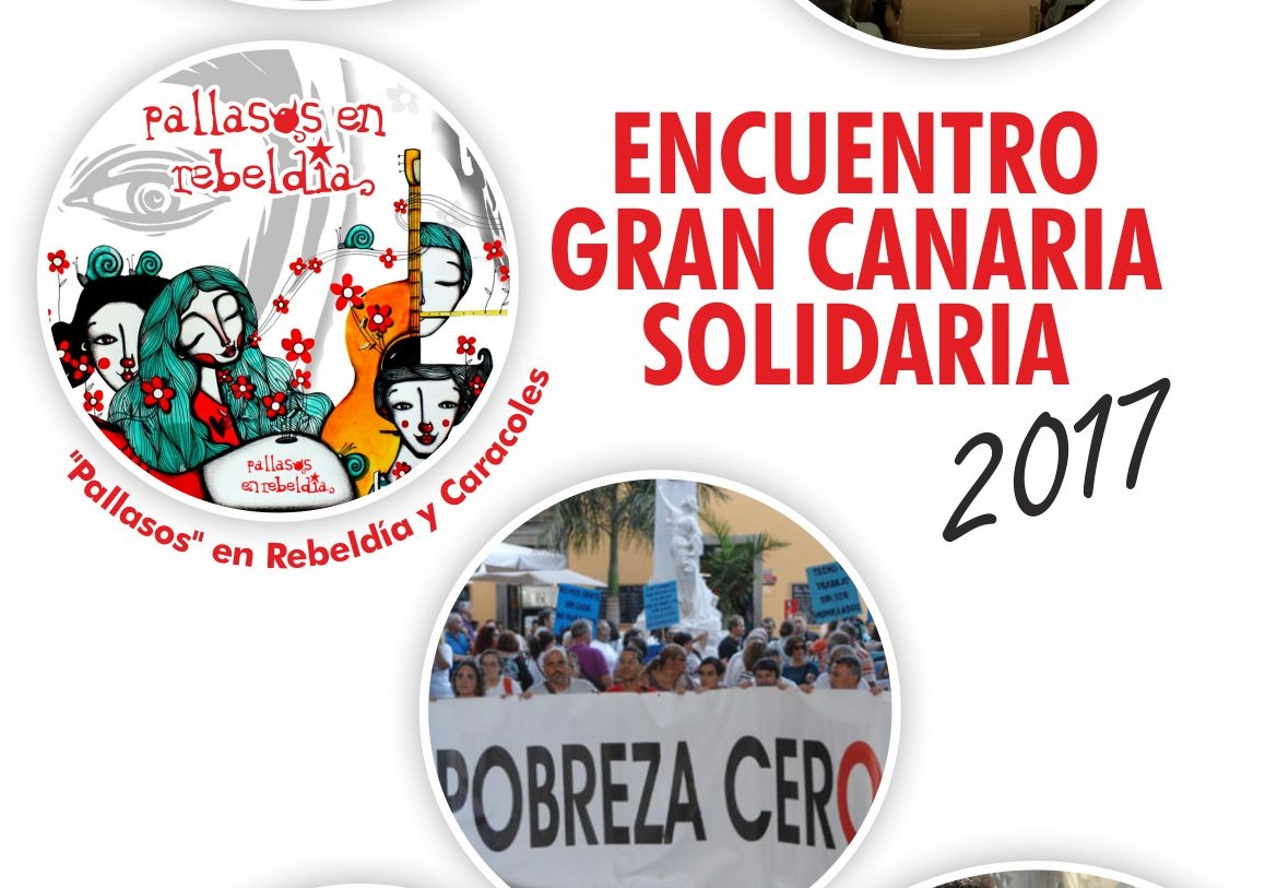 'Payasos en rebeldía', entre las propuestas del segundo encuentro Gran Canaria Solidaria