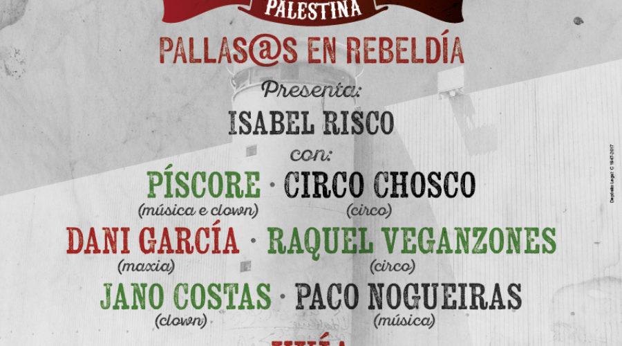 Gala Solidaria Festiclown Palestina el 28 de diciembre en Santiago de Compostela