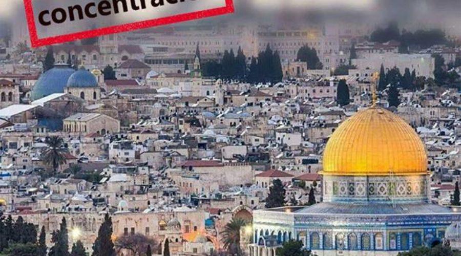 Pallasos en Rebeldía firma la declaración contra la decisión de Trump de trasladar su embajada a Jerusalén, junto a medio centenar de organizaciones