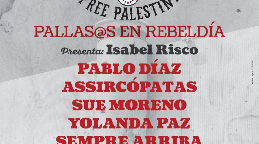 Gala Solidaria Festiclown Palestina el 27 de diciembre en Santiago de Compostela
