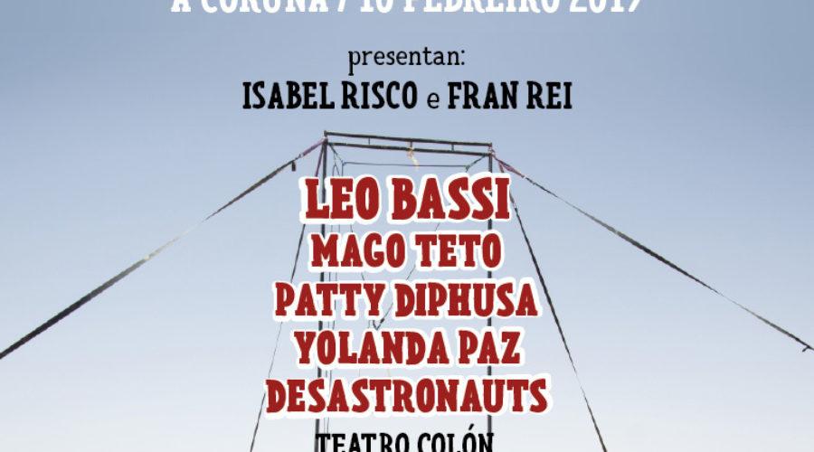 Gala Pallas@s en Rebeldía a Coruña