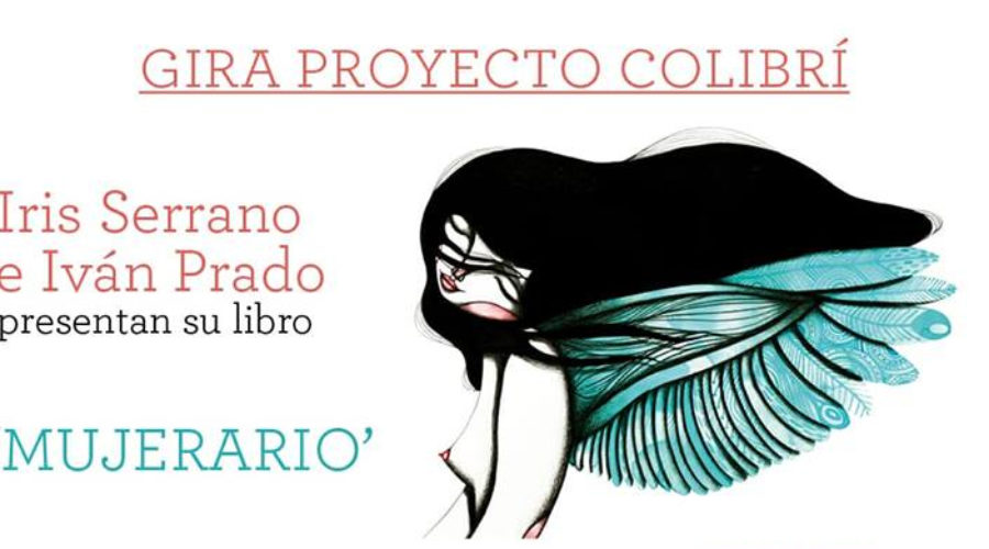 "Iris Serrano e Iván Prado presentan su libro ""MUJERARIO"""