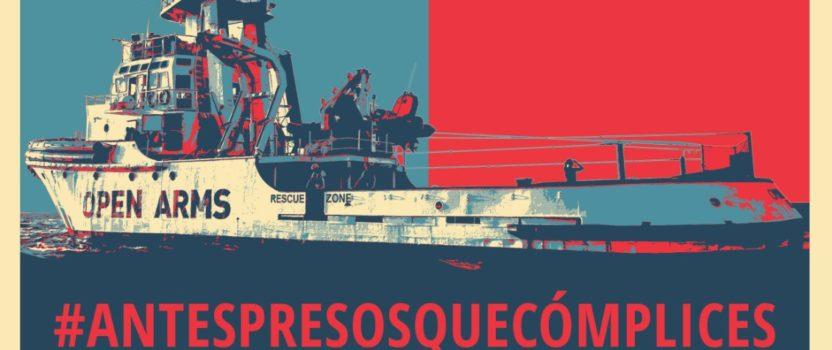 Desde Pallasos en Rebeldía organizamos un acto de apoyo a Open Arms