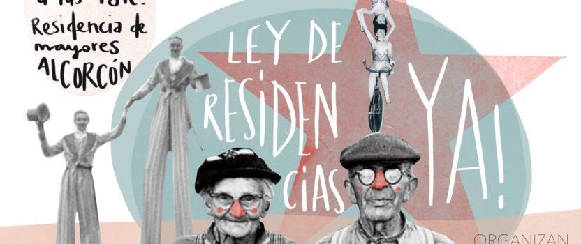 Pasacalles Rebelde en Alcorcón con la Marea de Residencias