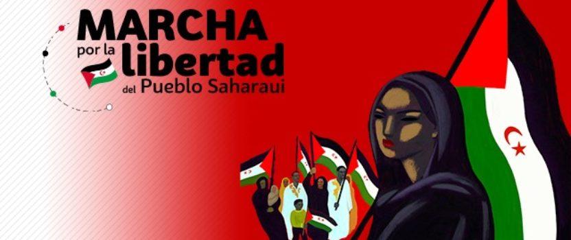 ¡Nos unimos a la marcha saharaui!